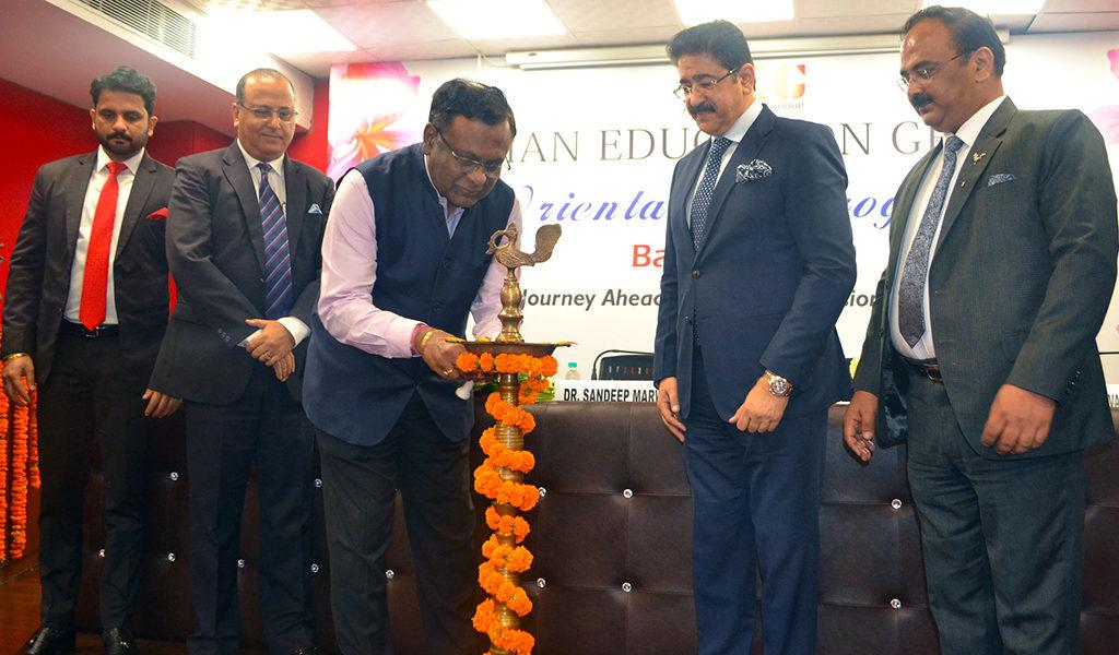 ABS PGDM Orientation 2019- Chief Guest Mr. P. Dwarakanath