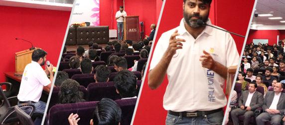 AEG Lead Lecture Series 2019: An illuminating talk by Mr. Shivi Singh